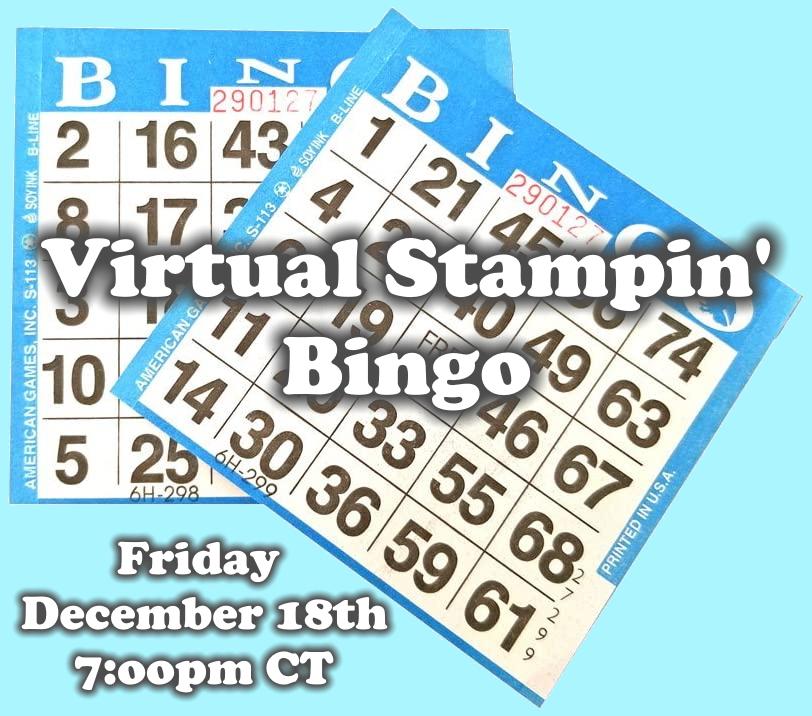 Virtual Stamping Bingo, www.LaurasStampPad.com