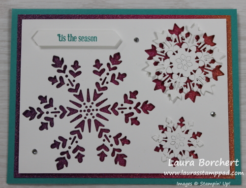 Tis the Season, Itty Bitty Christmas Stamp Set, www.LaurasStampPad.com