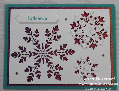 Tis the Season, Itty Bitty Christmas Stamp Set, www.LaurasStampPad.com