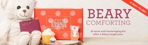 Beary Comforting Paper Pumpkin Kit, www.LaurasStampPad.com