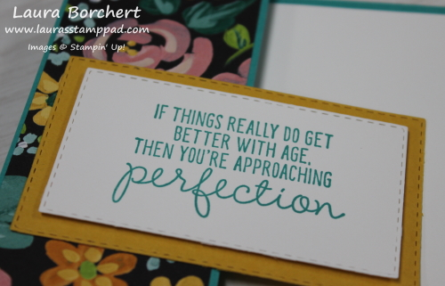 Approaching Perfection Sale-A-Bration Stamp Set, www.LaurasStampPad.com