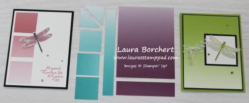 "6"" x 6"" Designer Paper Template, www.LaurasStampPad.com"