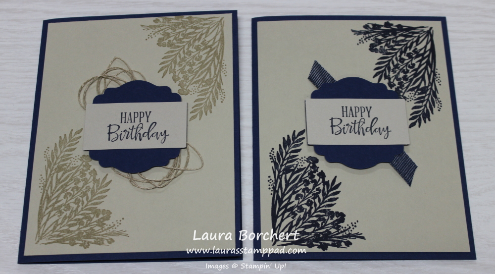 Corner Bouquet Sale-A-Bration Stamp Set, www.LaurasStampPad.com