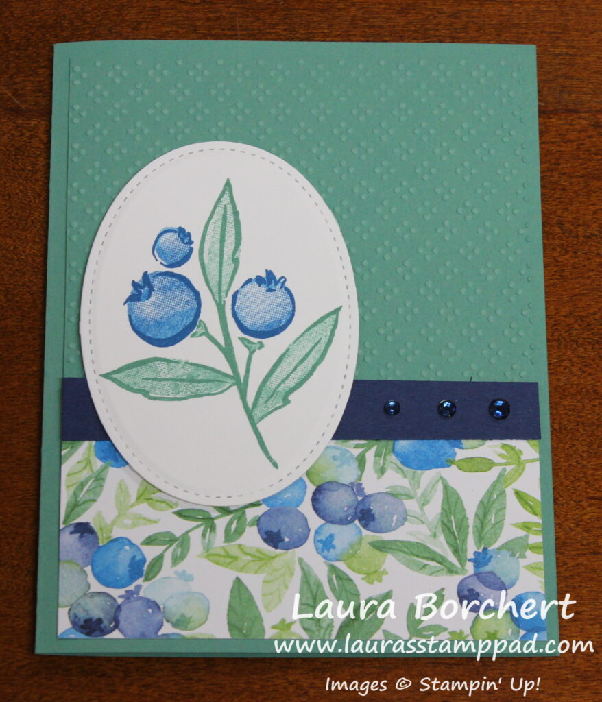 Berry Delightful Designer Series Paper by Stampin' Up, www.LaurasStampPad.com