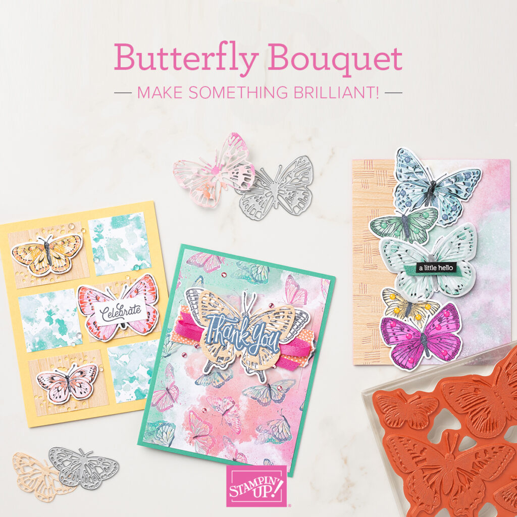 Butterfly Bouquet Stampin' Up Bundle, www.LaurasStampPad.com