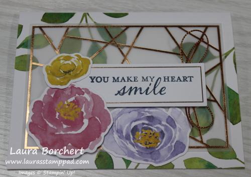 #happymail Card, www.LaurasStampPad.com