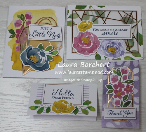 Hello Dear Friend Stampin' Up All Inclusive Card Kit, www.LaurasStampPad.com
