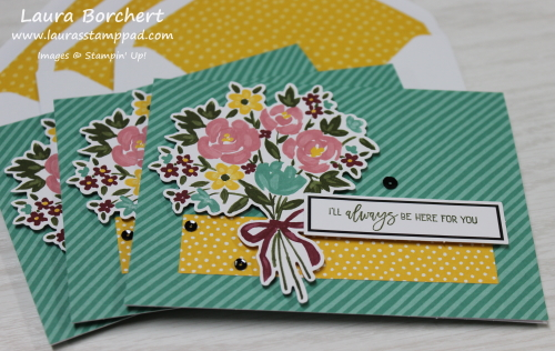 Monthly Card Kit, www.LaurasStampPad.com