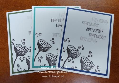 Masculine Birthday Cards, www.LaurasStampPad.com