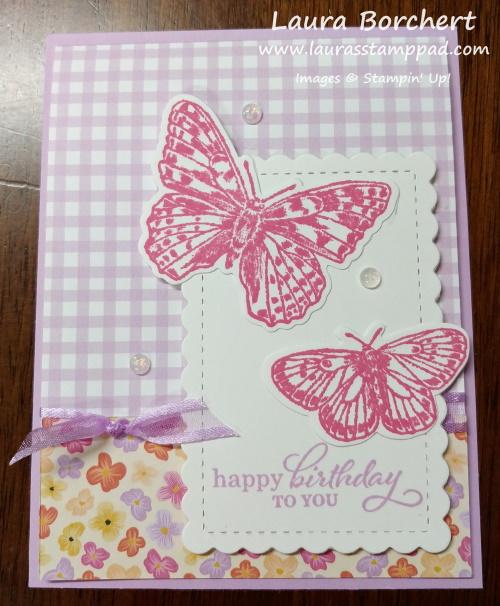 Butterfly Brilliance Stampin' Up Stamp Set, www.LaurasStampPad.com