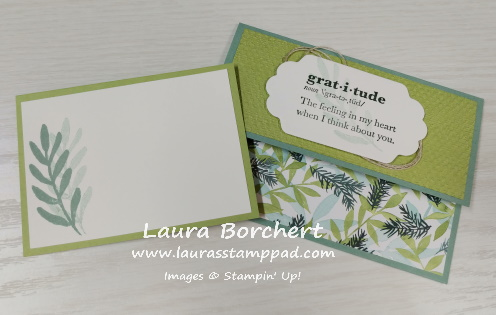 Gratitude Stampin Up, www.LaurasStampPad.com