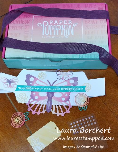 Decorate Paper Pumpkin Stampin Up, www.LaurasStampPad.com
