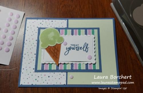 Treat Yourself Stampin' Up!, www.LaurasStampPad.com